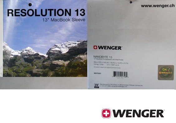 Wenger Resolution 13 inch MacBook sleeve